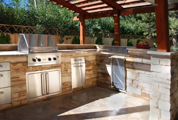Designing the perfect outdoor kitchen in mustang oklahoma for Perfect outdoor kitchen