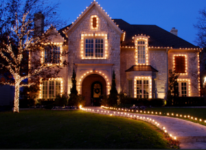 Christmas Lights Installation in Oklahoma