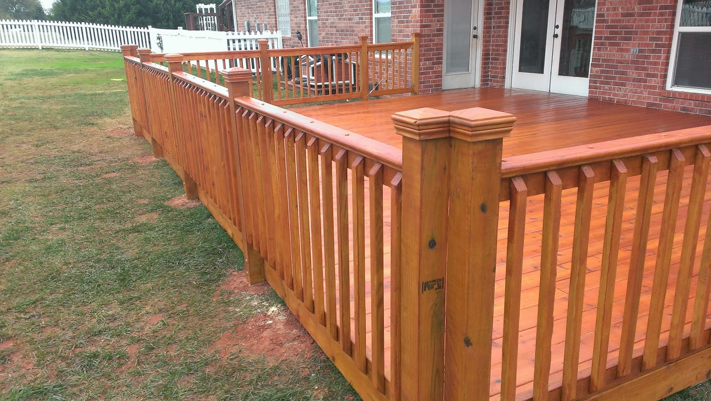 Wood Deck in Oklahoma City