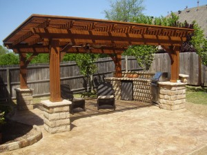 Outdoor Kitchen Plans in Oklahoma City