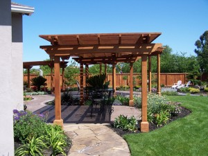 Pergolas and Arbors in Pink Oklahoma
