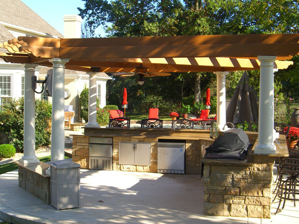 outdoor kitchens  dining out everyday in tuttle oklahoma  u2013 riemer and son landscaping and