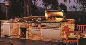 outdoor kitchens in Mustang Oklahoma
