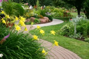spring landscaping in Del City Oklahoma