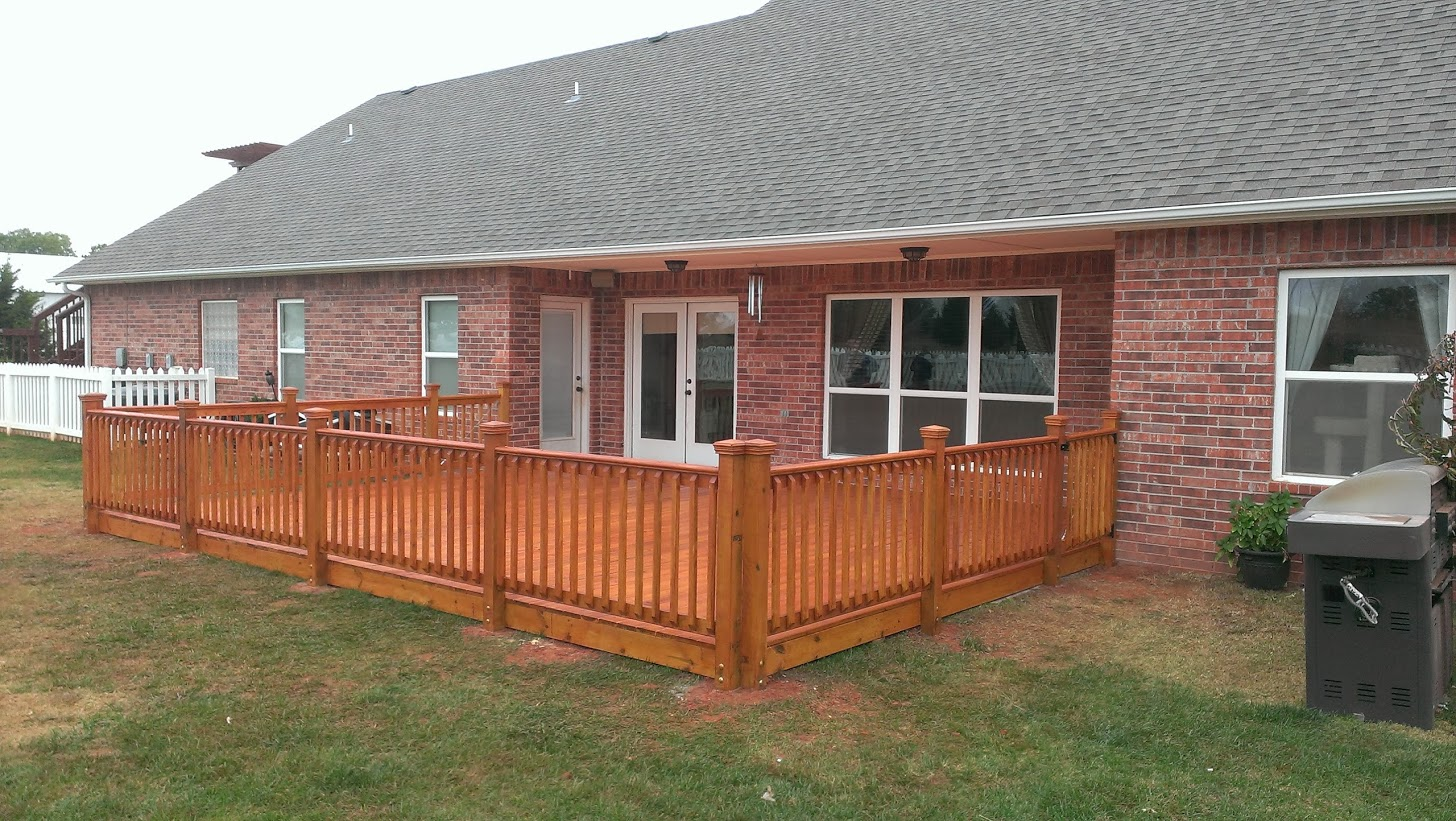 Riemer and Son - Wood Deck in OKC