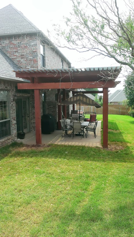 Pergola in OKC by Riemer and Son